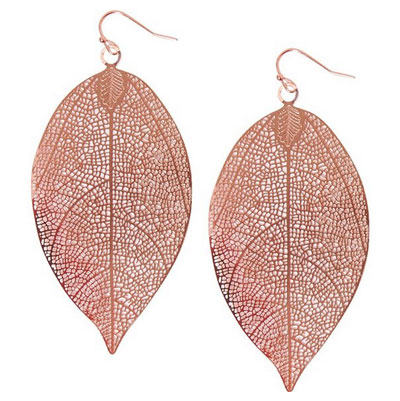 Humble-Chic-Women's-Filigree-Leaf-Earrings-Rose-Gold