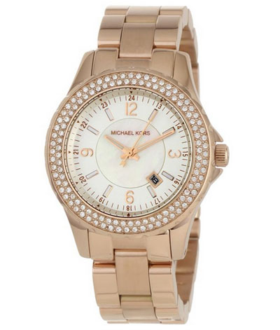Michael-Kors---Quartz-Classic-Rose-Gold-with-White-Dial-Women's-Watch---MK5403