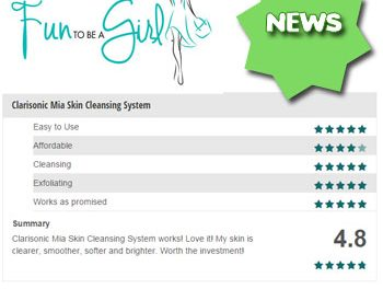 Beauty Product Reviews and Rating System Added to Fun To Be A Girl