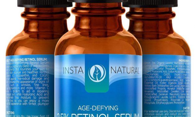 InstaNatural Retinol Serum 2.5% Review